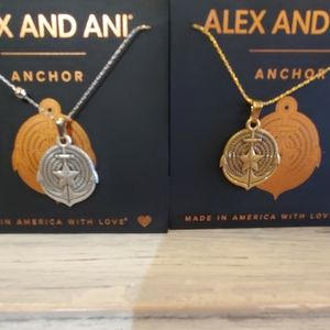 Anchor Necklace Alex and Ani